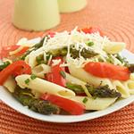 Asparagus and Pepper Pasta Salad